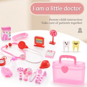 TW2010091 Pretend Play Doctor Set Pretend Play Hospital Medical Tools Spiel Haus Spielzeug