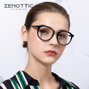 Güneş Gözlüğü Zenottik Mavi Işık Engelleme Bilgisayar Gözlük Anti Temizle Lens Erkekler Kadınlar Için Optik Reçete Gözlükler Çerçeve1