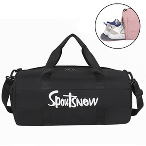 Dry Wet Gym Bag Nylon Sports Bags Men Training for Shoes Fitness Yoga Travel Luggage Sac De Sport Bag