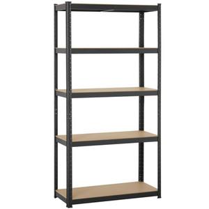 "Heavy Duty 71""H Shelf Garage Steel Metal Storage 5 Level Adjustable Shelves Rack"