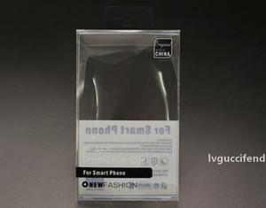 Maior PVC transparente plástico pacote de varejo Caixa com Blister titular interior Por telefone Couro Telefone para iPhone 6 6S Além disso Samsung S6 S5