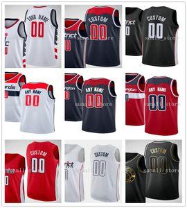 2020 Basketball Draft Pick-Trikots Deni 9 Avdija Vit Krejci Bradley 3 Becher John 2 Wall Rui 8 Hachimura Robin Lopez Davis 42 Bertans