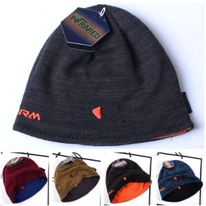 Beanie unisexe chapeaux tricotés réversibles hiver molleton crâne de crâne mec Fedora usure de chapeau de bonne face chapeau de mode hommes hommes femmes chapeaux chapeaux chapeaux cadeau