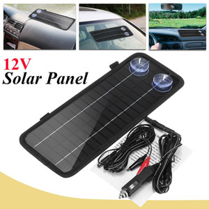 12v 4.5w Outdoor Portable Monocrystalline Solar Panel Cell Module System For Car Boat Motorcycle Power Battery Charger