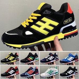 2020 NOUVEAU ÉDITEX ORIGINALS ZX750 Sneakers ZX 750 pour hommes Femmes Platform Athletic Fashion Homme Casual Hommes Chaussures Chaussures RG01 K2R5