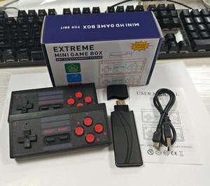 Y2 Plus 4K HD U-Box Super Mini TV Video Video 621-in Games Retro Family Game Console Supporto 2.4G Doppio Gamepad wireless portatile