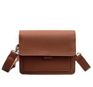 Japan and Korean Style ladies bag retro shoulder bag simple small square wild Messenger Small Dropship Y507