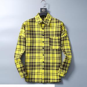 Women's shirt 2020 New t Shirts Mens Twill Long Sleeve Thickened Shirt New Fashion Men's long Sleeve Shirt