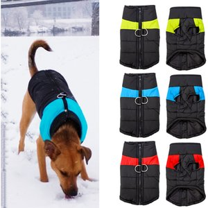 Waterproof Puppy Vest Chihuahua Warm Winter Dog Clothing Jas For Small Medium Large Dogs 4 Colors s-5XL