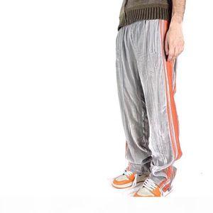 19FW European Style Pants Fashion Pants Loose Trousers Hip-hop Couple Women And Mens High Quality Pants HFXHKZ010