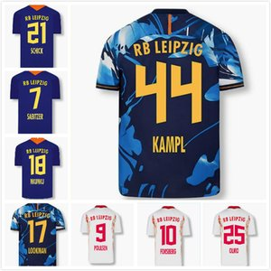 RBL Werner Soccer Jersey 2020 21 Sabitzer Poulsen Forsberg Hee Chan Nkunku Schick Olmo Laimer Wolf Ilsanker Lookman كرة القدم