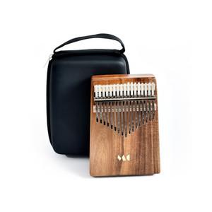 Kalimba 17 Tuşlar Parmak Piyano Ahşap Taşınabilir Başparmak Piyano Vücut Ulusal Enstrüman Yeni Başlayanlar için Müzikal Hediye