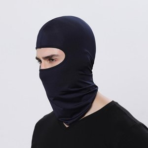 man women scarf fleece Scarf Collar cap sleeve head and multifunctional sports riding windproof warm mask Scarfs