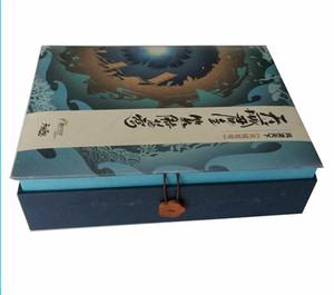 Custom Sponge Tray Rigid Paper Magnetic Closure Creative Black Flip Lid Luxury Bottle Unique Perfume Packaging Box