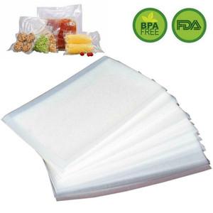 100 Quart 8x12 Gıda Tasarrufu Vac Depolama Yemek Hazırlık Sous Vide için Vakum Mühürleyen Çanta