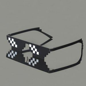 XMY Popular Mosaic Sunglasses Pixelated Men Fashion Eyeglasses Toys Life Thug Party Glasses Glasses Vintage Women Sun Oqrak