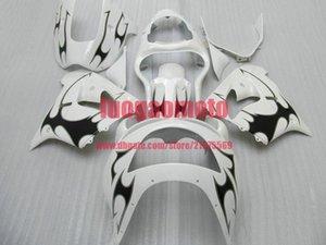 FREE Customize KAWASAKI ZX9R 1998 1999 cowling NINJA ZX9R 98 99 body kits KAWASAKI ZX9R ZX 9R 1998 1999 bodywork fairing kits #U28W7 WHITE