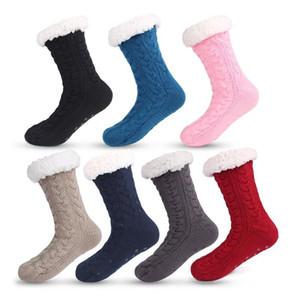 Winter Sport Socks Women Non-slip Adult Floor Socks Warm Soft Bottom Slippers Home Shoes Outdoor Sport Running Hiking