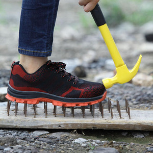 Men&#39s Winter Steel Toe Cap Safety Shoes Men Outdoor Anti-slip Steel Puncture Proof Construction Boots Work