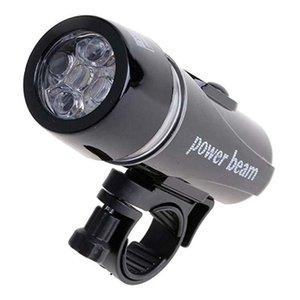 Luz impermeable de la cabeza de la cabeza de la bicicleta de alta calidad MTB 5 LED Mountain Bike Front Light Linterna Lámpara de ciclismo