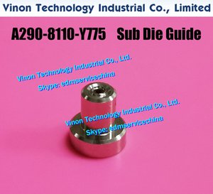 A290-8110-Y775 Lower Sub Die Guide Ø1.0mm (Ruby type) for Fanuc 0iA,0iB,0iC,1iA,1iB,1iC non AWF. EDM Die Guide A2908110Y775, A290.8110.Y775
