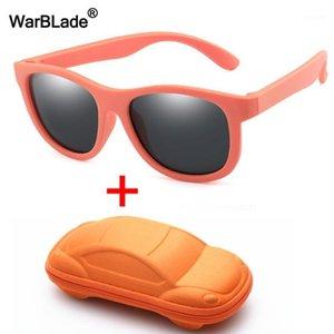 Солнцезащитные очки WBL Дети Поляризованные TR90 Мальчики Девочки Дети Дети Солнцезащитные Очки Силиконовые Безопасность Baby UV400 Очки Oculos С Case1