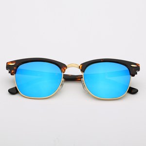 top quality 51mm Sunglasses men women acetate Frame Sun glasses men Des lunettes De Soleil Fashion Sunglasses for Men