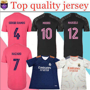 21/22 Real Madrid Football Jersey Benzema Vini JR MODRIC ASENSIO SERGIO RAMOS 2021 2022 T-shirt de football sportif