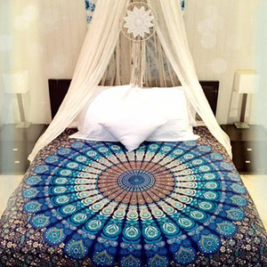Bohemian Bed Cover 3d boho Mandala printing bed sheet Home Decor Bedspread tapestry Wholesale Hot