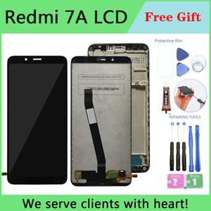 LCD original para Xiaomi Redmi 7a LCD Display Touch Tela com moldura para Xiaomi Redmi7a LCD Display Peças de Reparo Spare