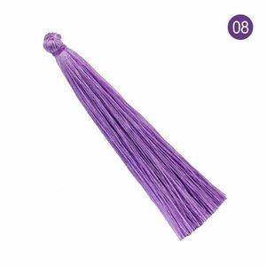 20pcs 9cm Coloré Polyester Tassel DIY Pendentif Rideau Vêtement Accueil Textile Making Fringe Craft Craft Tassels Couture Accessoires H Jllutl