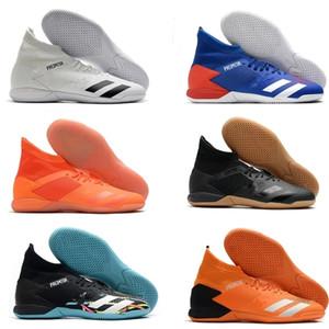 Yeni Predator 20.3 Yüksek Bilek Mens TF Futbol Boots Futbol Profilli Kapalı Deri Eğitmenler Çim Çorap Futbol Ayakkabı