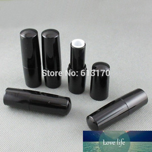 50pcs New Arrival 4g Lip Balm Tubes Empty Black Lip Stick Tube DIY Lip Gloss Packing Container Free Shipping