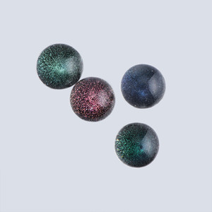 DHL! NOUVEAU 14mm 22mm OD DHODRO Verre TERP Perls Ensembles de marbre en verre pour Bangers Terp Slurper