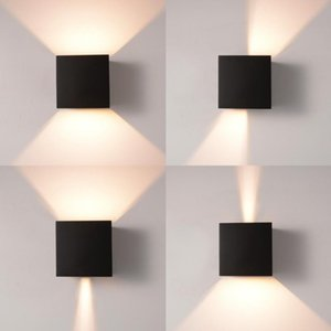 Outdoor Waterproof IP65 Wall Lamp Modern LED Wall Light Indoor Sconce Decorative lighting Porch Garden Lights Lamps 85-265v