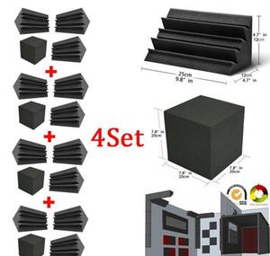 베이스 트랩 폼 벽 코너 오디오 소리 흡수 폼 스튜디오 Accessorie Acoustic Treatme WMTFCJ Bdegarden