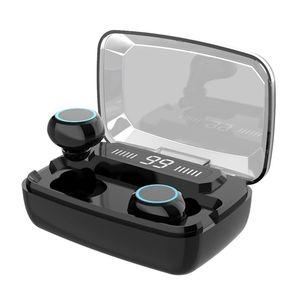 M11 Touch Control HiFi 8D Stereo Music Headset Headphones earbuds Wireless TWS Bluetooth earphones