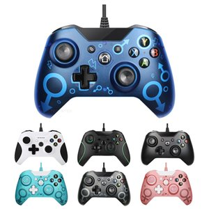 Controlador con cable USB Controle para Microsoft Xbox One GamePad Controller One para Windows PC Win7 / 8/10 Joystick Onleny CN (Origin) Q0104