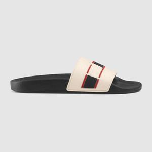 2019 Terlik Sandalet Tasarımcı Slaytlar Lüks Üst Tasarımcı Ayakkabı Tasarım Flip Flop Loafers Erkekler ve Kadınlar için Ayakkabı Boyutu 35-45