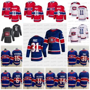 Carey Fiyat Montreal Canadiens 2021 Retro Retro Jesperi Kotkaniemi Allen Brendan Gallagher Roy Domi Anderson Dairault Drouin Suzuki Jersey