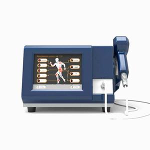 Ganhewave Equipamento de terapia de onda de choque porfessional com CE Tratar dor corporal, quebra de choque quebra gordura pilha dor nas costas alívio massagem mahcine