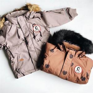 Pre-venta Ropa de algodón para niños en invierno MR para niños y niñas Ropa de algodón de viento y viento impresas 201202