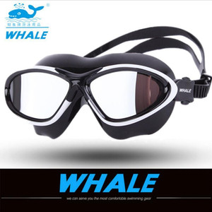 Brand Large Frame Colorful Plating Swim Goggles Men Women Scratch Proof Lens Adjustable Professional Swimming Goggles Bbycsq Auro