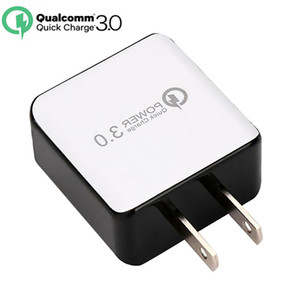 QC 3.0 Fast Wall Charger USB Quick Charge Travel Power Adapter US EU Plug Mobile phone charger