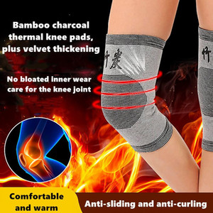 2pcs Self Heating Support Knee Pads Knee Brace Warm for Arthritis Joint Pain Relief and Injury Recovery Belt Knee Massager Foot