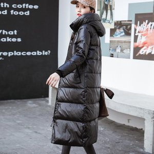 Winter Jacket Women Down Coat Female Thick 90% White Duck Down Jacket Womens Long Coats Warm Hooded Clothes 2020