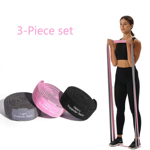 Long Fabric resistance bands 3-Piece Set fitness Pull Up Assist Booty Hip workout loop Elastic bands Yoga Gym Training Exercis Z1125