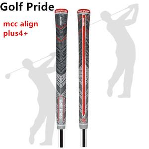 2021 Yeni Gri / Kırmızı Golf Sapları MCC Hizalama Plus4 + Multicompound Standart Boyut / Midsize Açık Spor