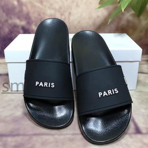 TOP QUALITY 2021 Fashion slide sandals slippers for men women WITH ORIGINAL BOX Hot Designer unisex beach flip flops slipper