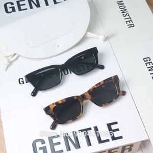2020 Nuevo Jennie 1996 Cooperó GM Gafas de sol Moda Mujeres Monstruo Monstruo Gafas de sol Lady Vintage Pequeño Marco Glasses J1211